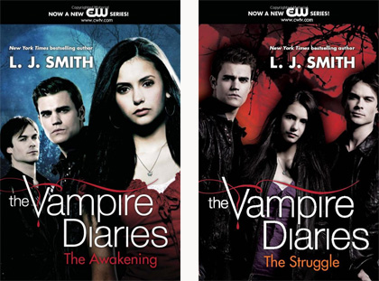 vampire diaries books in order 2012