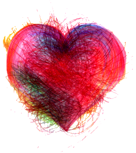 img valentinesday heart scribble