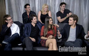 Cast Interview at Comic-Con 2012